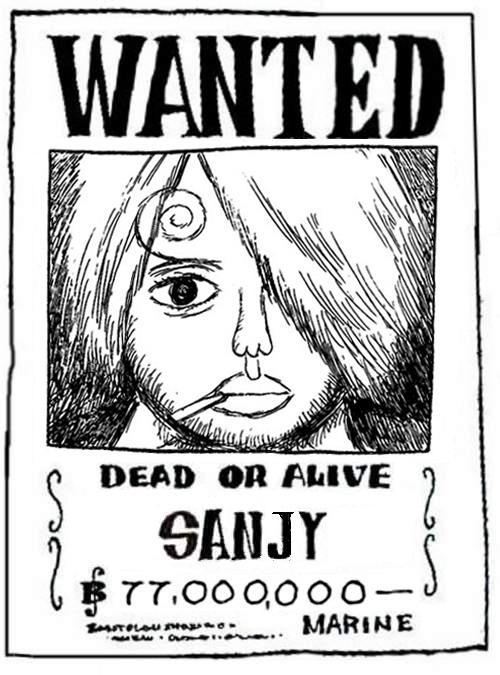 sanjiwanted
